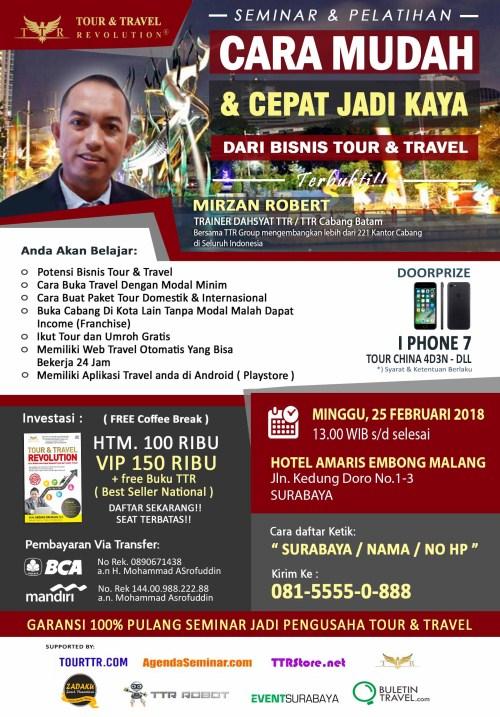 Cara Sukses Bisnis Tour Travel