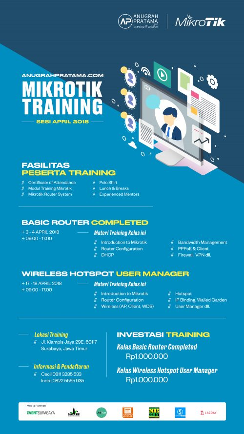 MikroTik Routers and Wireless Training - mandegar info