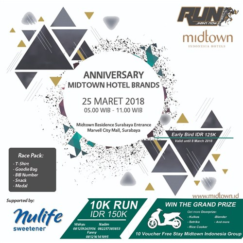 Run Jaman Now 10K