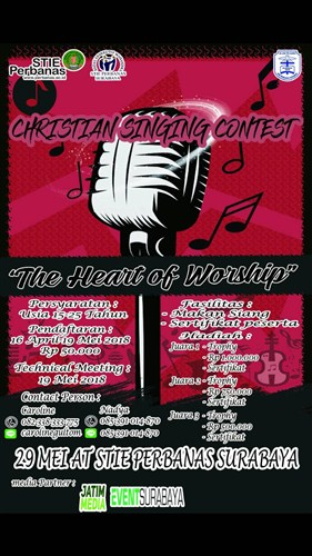 """Christian Singing Contest 2018 """"The Heart of Worship"""""""