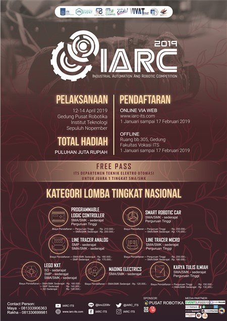 IARC (Industrial Automation and Robotic Competition) 2019