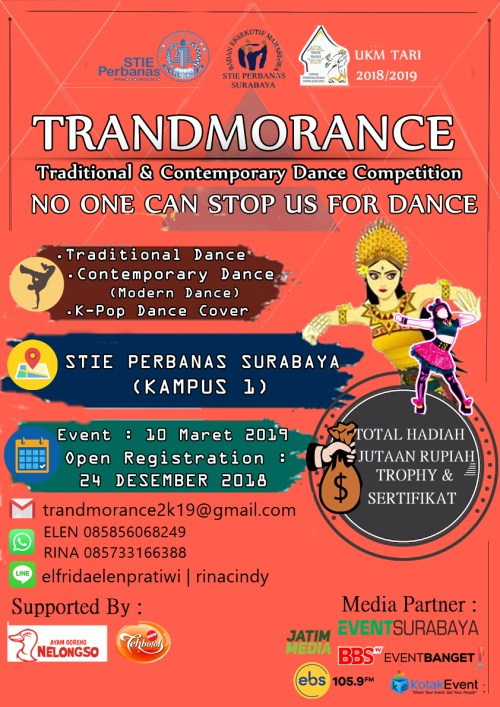 "Trandmorance Culture Exchange ""No One Can Stop Us For Dance"""