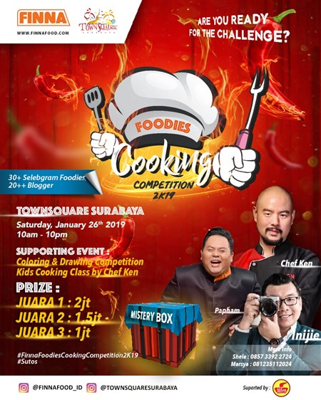 Foodies Cooking Competition 2019