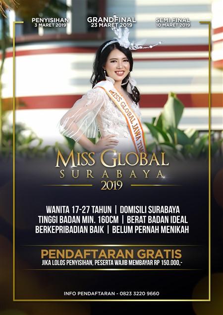 Miss Global Surabaya 2019