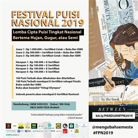 Festival Puisi Nasional 2019