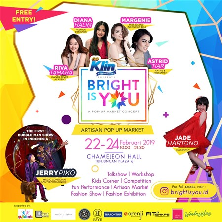 Pop Up Market : Bright Is You