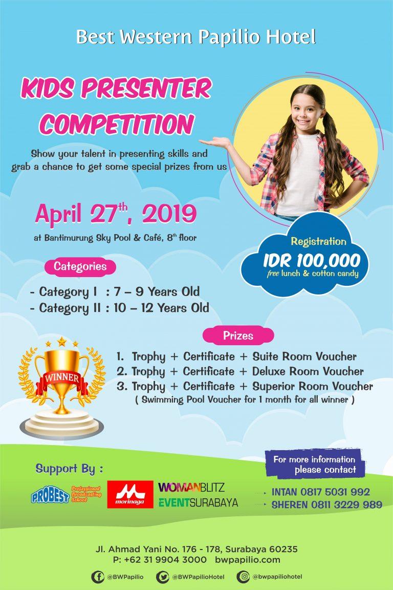 Kids Presenter Competition