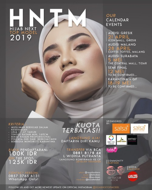 Hijab Next Top Model 2019