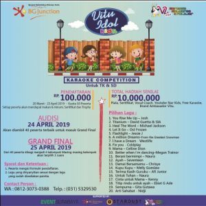 Vitu Idol Kids : Karaoke Competition