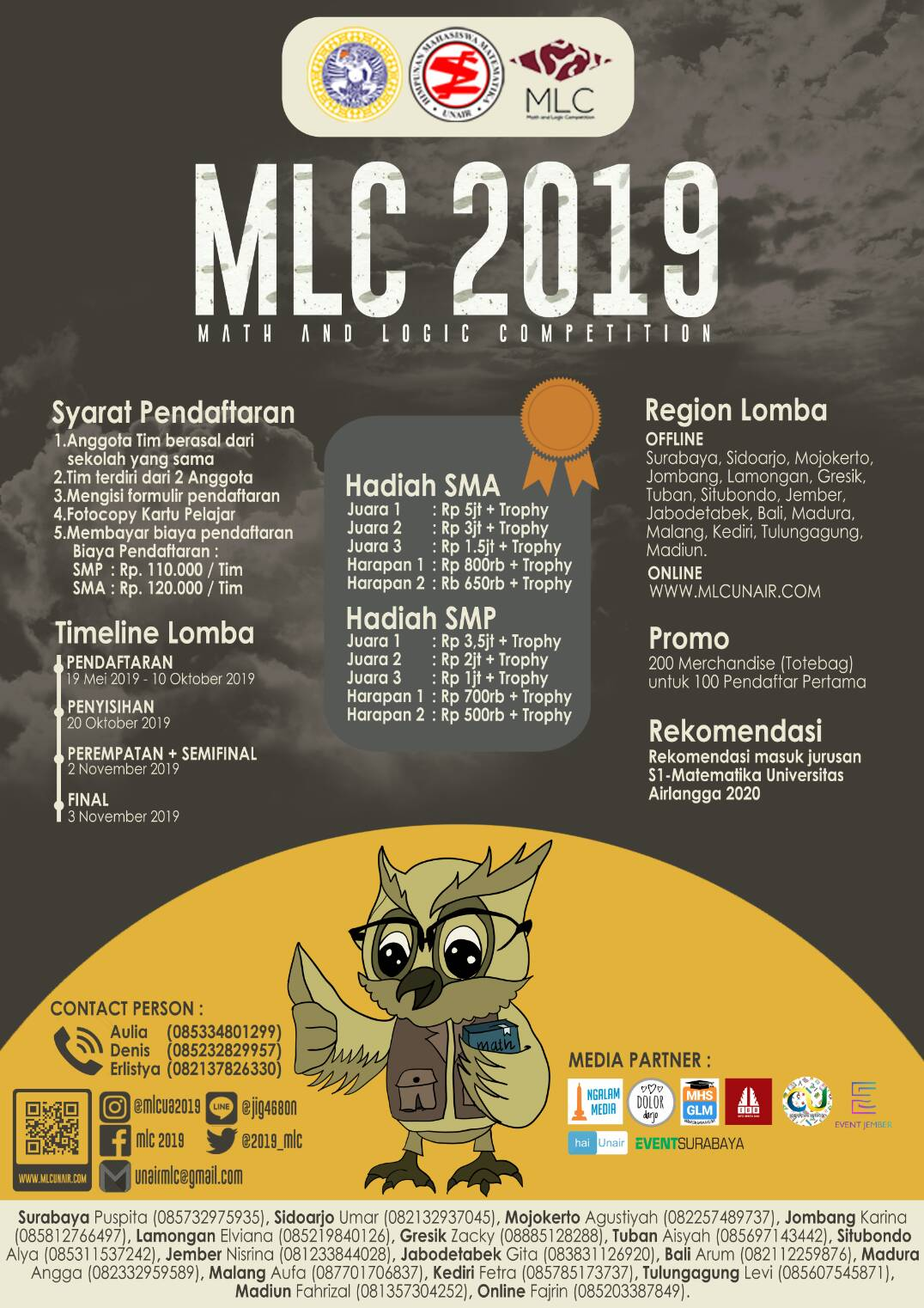 Math and Logic Competition 2019