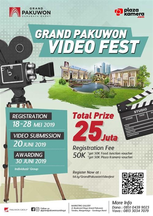 Grand Pakuwon Video Fest