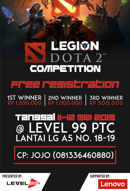 Level 99 Store : Dota 2 Competition