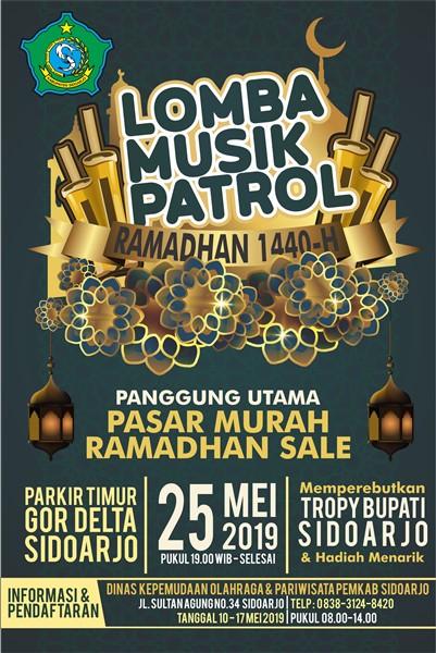 Lomba Musik Patrol Ramadhan 1440-H
