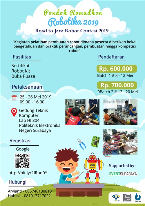 Pondok Ramadhan Robotika 2019, Road to Java Robot Contest 2019