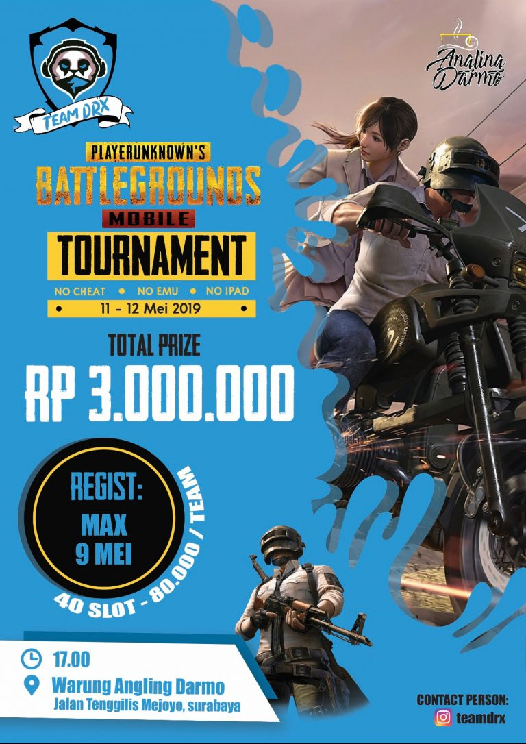 PUBG Mobile Online Tournament Team DRX