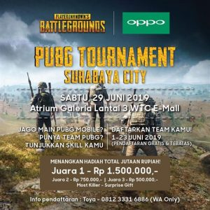 PUBG Tournament Surabaya City