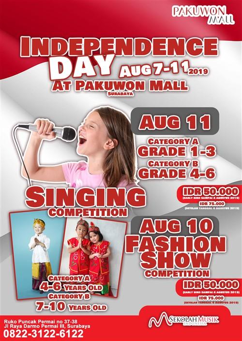 Independece Day Pakuwon Mall