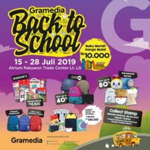 Gramedia Back To School 2019