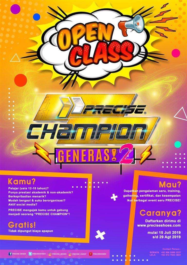 Precise Champion Generasi 2