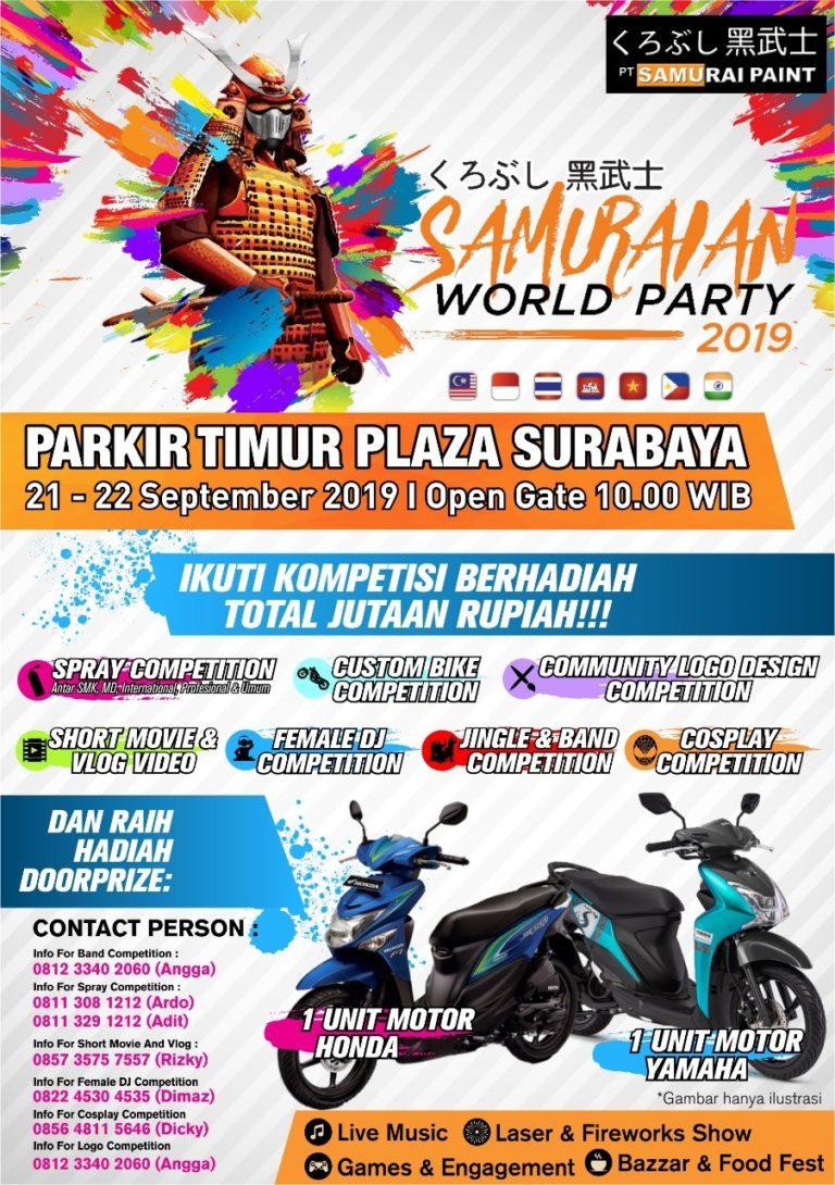 Samuraian World Party 2019