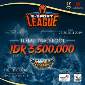 The Central Mall E-Sport League