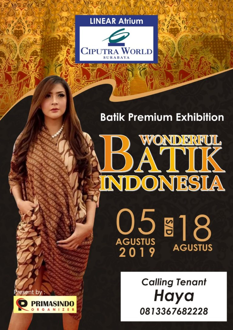 Wonderful Batik Indonesia : Fashion Competition