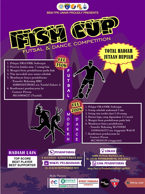 Fishcup 2019 : Futsal & Dance Competition