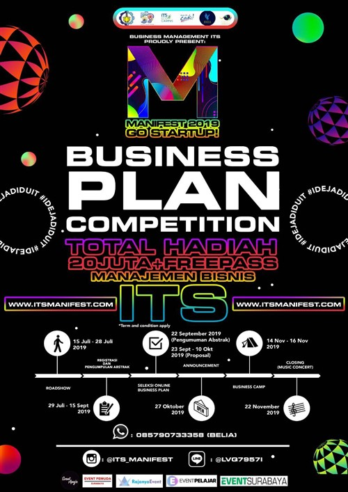Manifest 2019 : Business Plan Competition