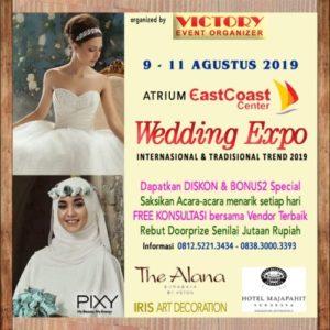 "Wedding Expo ""Internasional & Tradisional Trend 2019"""