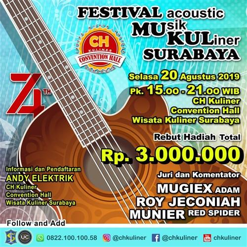 Festival Acoustic Musik Kuliner Surabaya