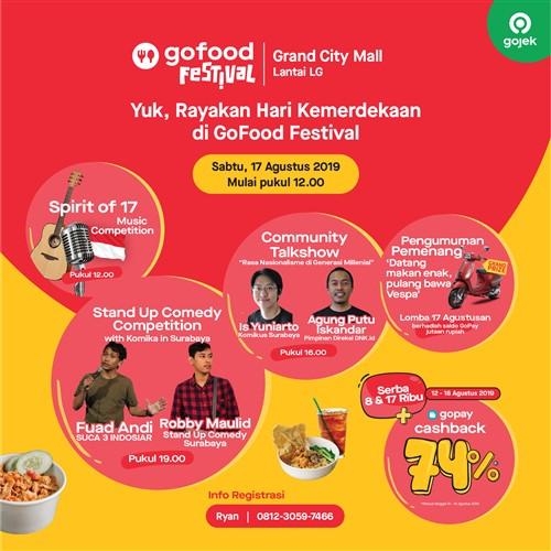 Go-Food Festival Hari Kemerdekaan