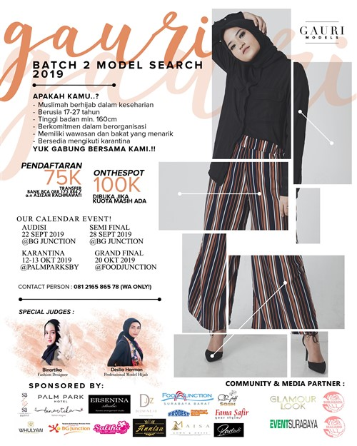 Gauri Batch 2 Model Search 2019