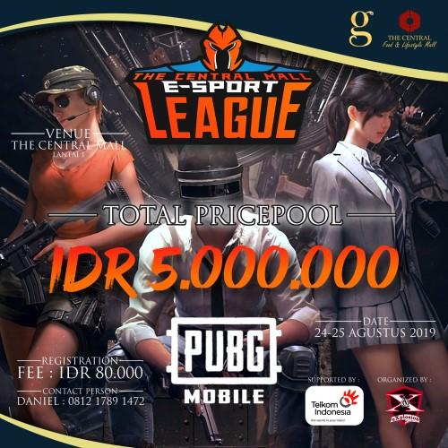 The Central Mall E-Sport League PUBG MOBILE