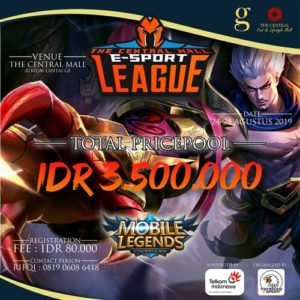 The Central Mall E-Sport League Mobile Legends