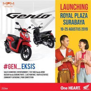 Launching & Pameran Honda Genio Di Surabaya