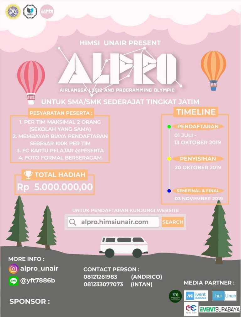 Airlangga Logic And Programming Olympic