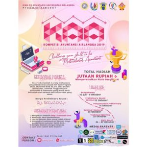 "Kompetisi Akuntansi Airlangga ""Challenge Your Skill to be Multitalented Accountant """