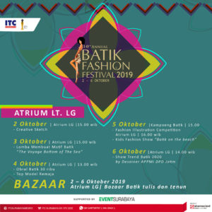 10th Annual Batik Fashion Festival 2019