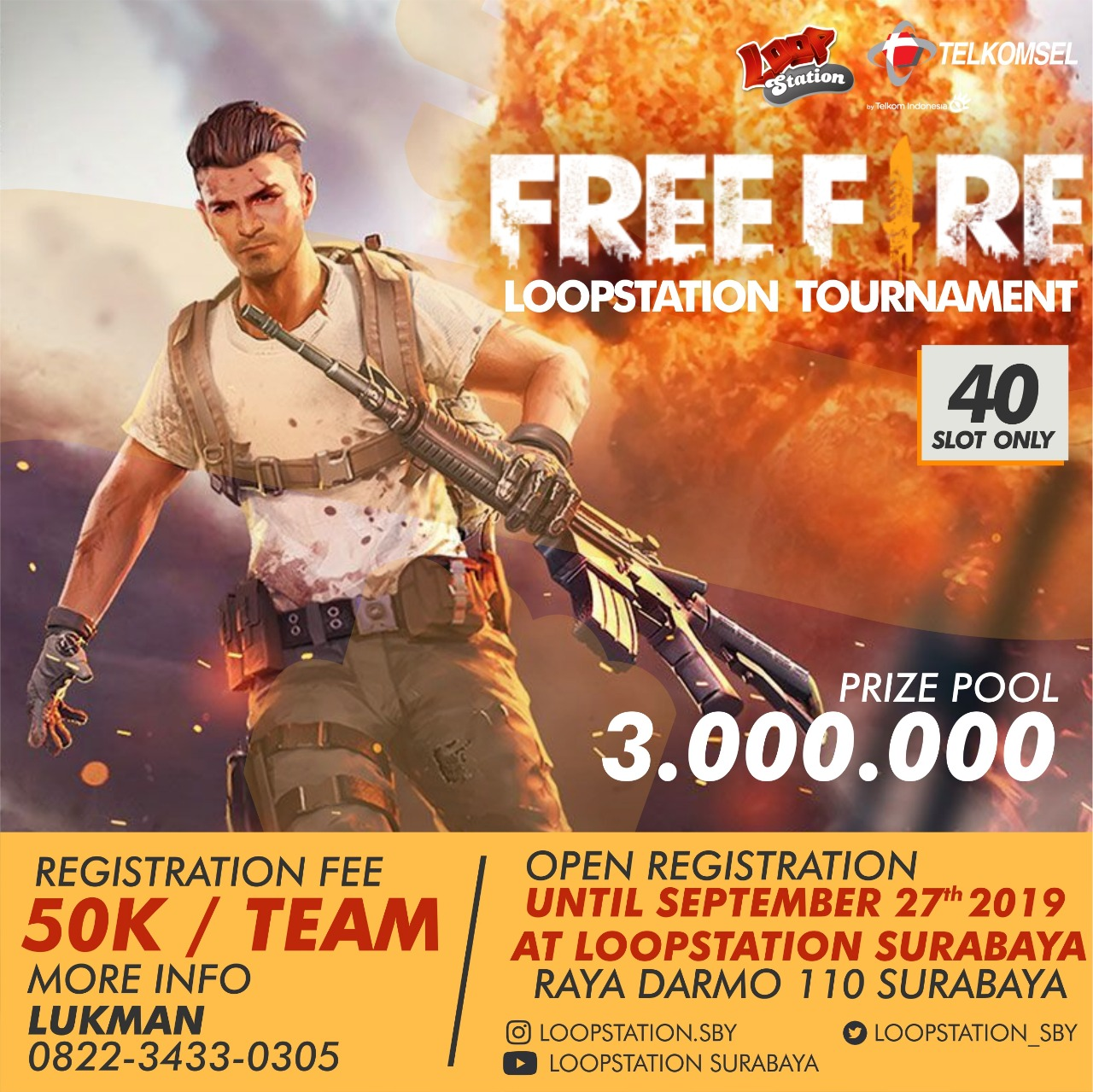 Free Fire Loopstation Tournament 2019