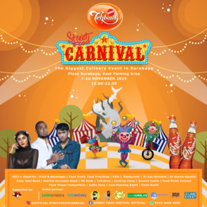 """Street Food Carnival""""The Biggest Culinary Event in Surabaya"""""""