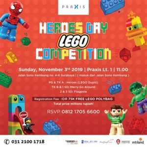 Heroes Day LEGO Competition