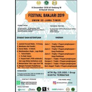 """Festival Al-Banjari 2019 """"Gema Sholawat Menyejukkan Hati"""""""
