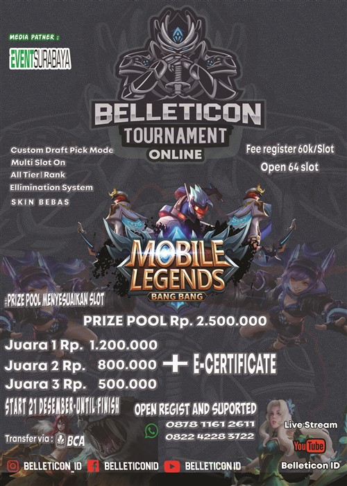 Belleticon Tournament Online Mobile Legend