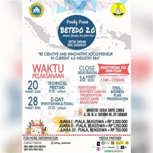 BETEDO 2.0 (Improved Business Plan Competition)