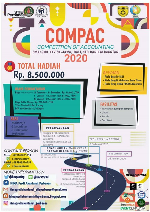COMPAC, Competition of Accounting 2020