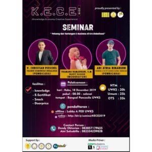 K.E.C.E 2019 (Knowledge.Economy.Creative.Experience)