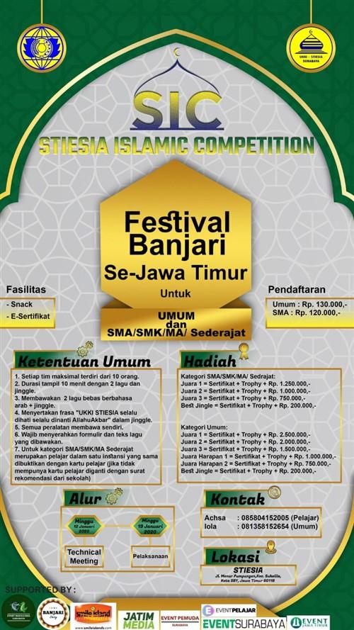 STIESIA ISLAMIC COMPETITION : Festival Banjari Se – Jawa Timur