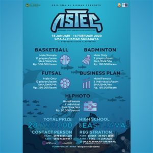 ASTEC 2020 (Al Hikmah Sport and Education Competition)