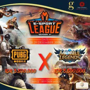 The Central Mall E-Sport League Season VI