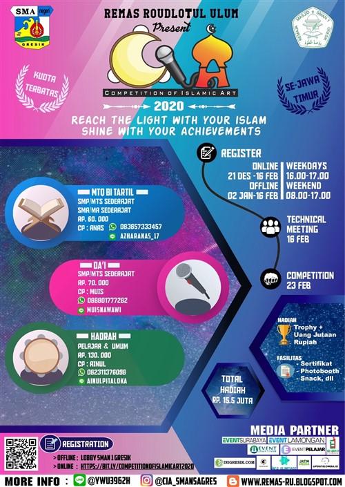 Competition of Islamic Art 2020 Se – Jawa Timur